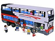 Конструктор «Автобус», 741 элемент, M38-B0335R, купить