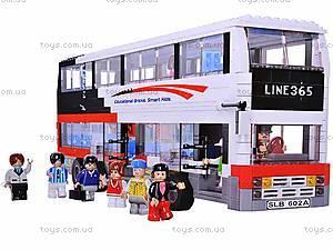 Конструктор «Автобус», 741 элемент, M38-B0335R, цена