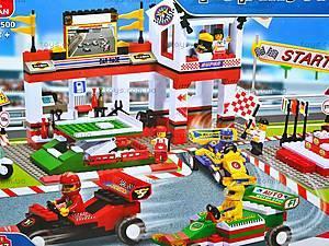 Конструктор «Автомобильные гонки», 457 элементов, M38-B5500, цена