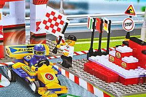 Конструктор «Автомобильные гонки», 457 элементов, M38-B5500, магазин игрушек