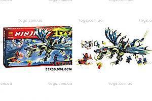 Конструктор Ninja «Атака дракона», 659 деталей, 10400