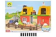 Конструктор блочный Happy Farm, 51 деталь, HG-1364, купить