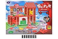 Конструктор блочный «Super house», 222-H10