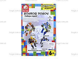 Детский конструктор «Боевой робот», ES80369R, купить