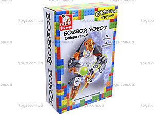 Детский конструктор «Боевой робот», ES80369R, отзывы