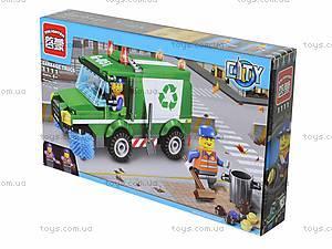 Детский конструктор «Уборка мусора», 196 деталей, 1111, фото