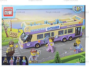 Конструктор для детей «Автобус», 461 деталь, 1123, купить