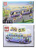 Конструктор для детей «Автобус», 461 деталь, 1123, фото
