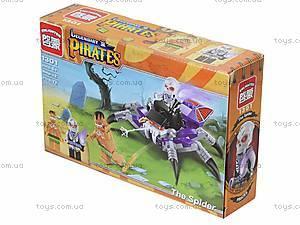 Конструктор «Пираты», 73 детали, 1301, фото