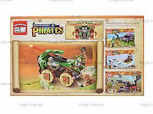 Конструктор «Боевая машина пиратов», 144 детали, 1304, купить