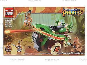 Конструктор «Боевая машина пиратов», 144 детали, 1304, отзывы