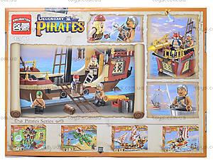 Конструктор для детей «Пираты», 368 деталей, 1311, фото