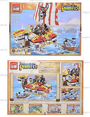 Детский конструктор «Корабль», 464 деталей, 1312