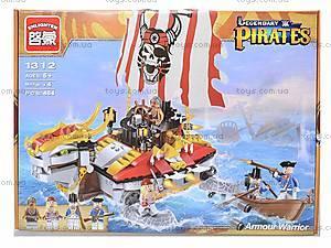 Детский конструктор «Корабль», 464 деталей, 1312, отзывы