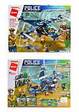 """Конструктор 1922 """"Police battle force"""", 402 детали , 1922, детские игрушки"""