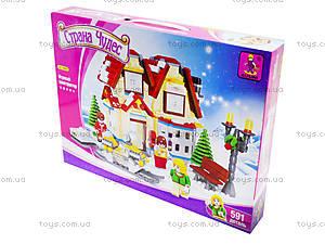 Детский конструктор «Дом», 24809, купить