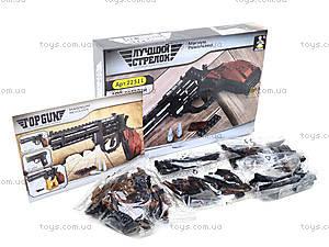 Детский конструктор «Пистолет», 22511, фото