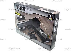 Конструктор для детей «Пистолет», 22512, купить