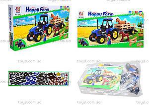 Конструктор для детей «Ферма», 6007