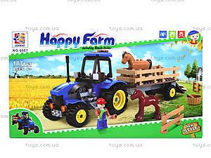 Конструктор для детей «Ферма», 6007, отзывы