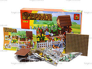 Конструктор детский «Ферма», 263 деталей, 28601, фото