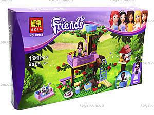 Конструктор Brick Friends «Домик на дереве», 10158, отзывы