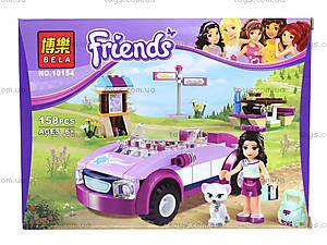 Конструктор Brick Friends «Кабриолет Стефани», 10154, цена