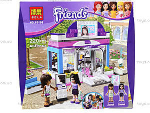 Конструктор Brick Friends «Салон красоты», 10156, цена