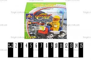 Конструктор Brick «Машинка», 6508