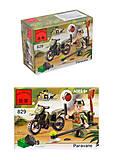 Конструктор «Мотоцикл», 19 элементов, 829