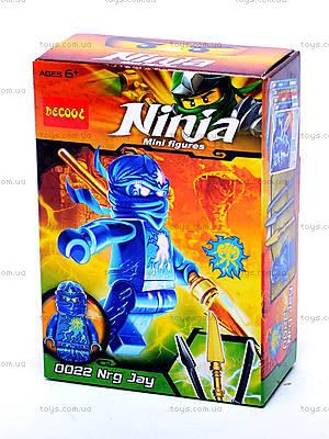 Конструктор для детей Brick Ninja, 0021-0026