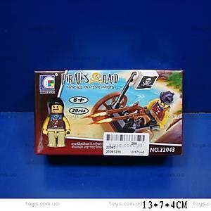 Конструктор Brick «Пираты», маленький, 22043