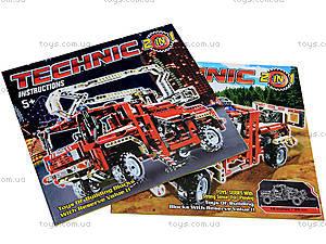 Конструктор Brick «Пожарная машина», 9606, фото