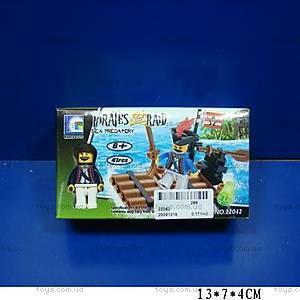 Конструктор Brick «Приключения пиратов», 22042