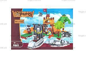 Детский конструктор «Пиратский остров», 27503