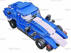 Конструктор детский «Спортивная машина», 3006, купить