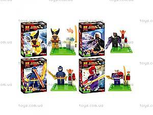Конструктор Brick Super Heroes, 10287-10290