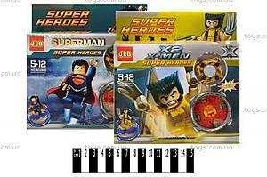 Конструктор «Brick» «SUPER HEROS», 2901-2908