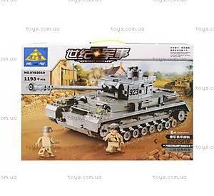Конструктор «Военный танк», 1193 деталей, 82010