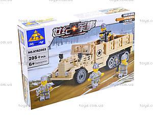 Детская конструктор «Военная техника», 82003, купить