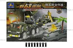 Конструктор «Brick» «Военная техника», 84010