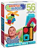 Конструктор Bristle Blocks, 56 деталей, 3070Z