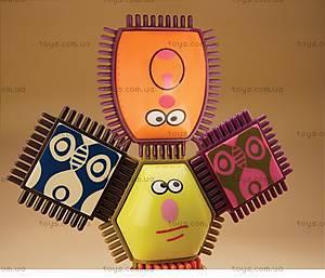 Конструктор-бристл «Веселые человечки», BX1040Z, игрушки