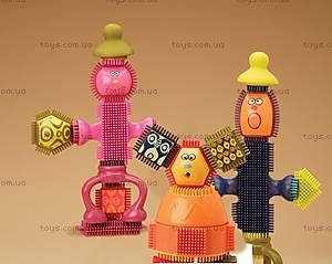 Конструктор-бристл «Веселые человечки», BX1040Z, детские игрушки