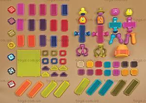 Конструктор-бристл «Веселые человечки», BX1040Z, іграшки