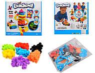 Конструктор-липучка Bunchems, 400 деталей, 5501, детские игрушки