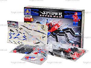 Конструктор «Человек-паук», 126 деталей, 6003, купить