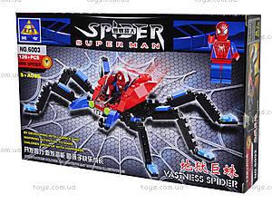 Конструктор «Человек-паук», 126 деталей, 6003, фото