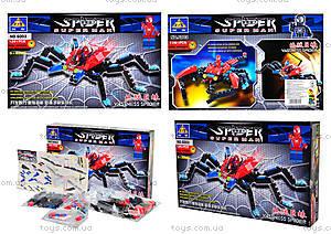 Конструктор «Человек-паук», 126 деталей, 6003