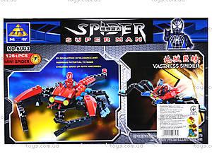 Конструктор «Человек-паук», 126 деталей, 6003, отзывы